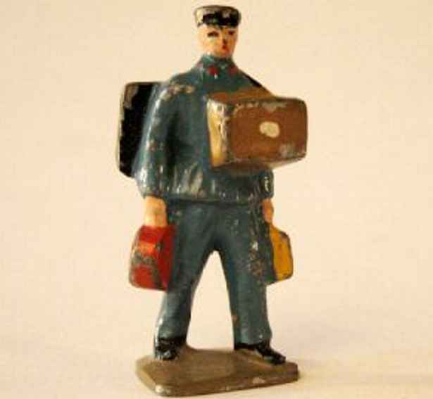 Gepäckträger mit Koffern