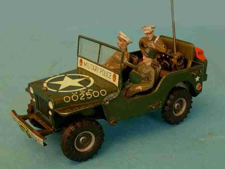 arnold 2500 militaer spielzeug auto jeep