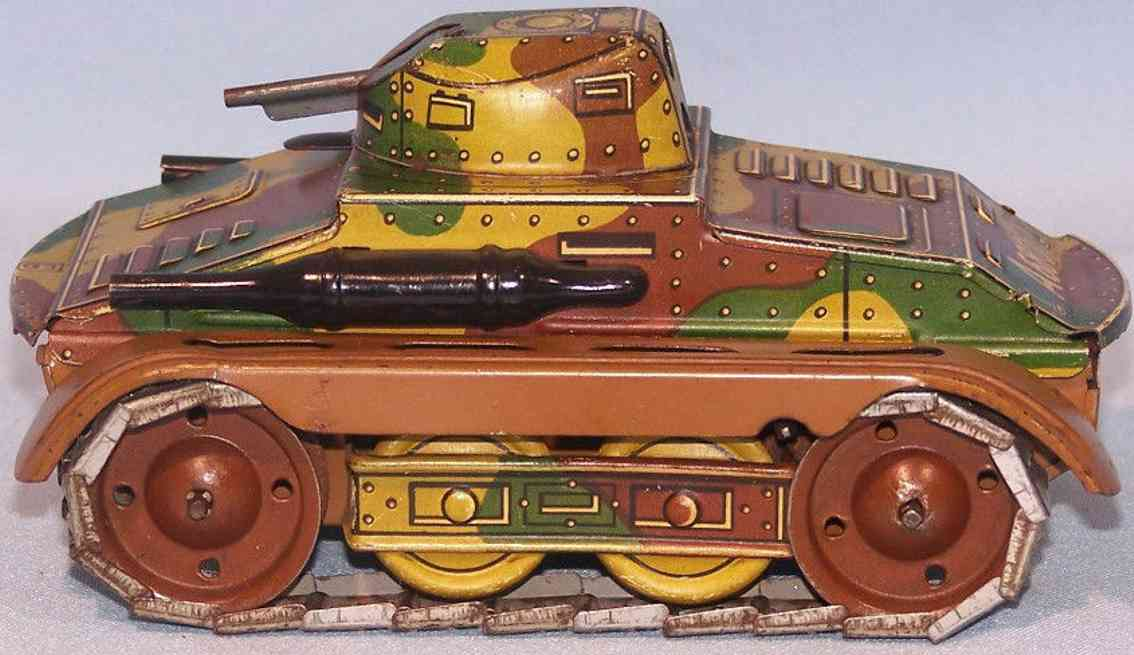 arnold a 680 military toy tin tank clockwork mimicry