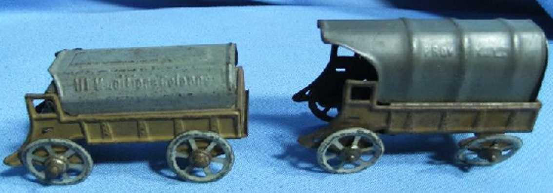 Bischoff Josef Ammunition wagon and chuck wagon