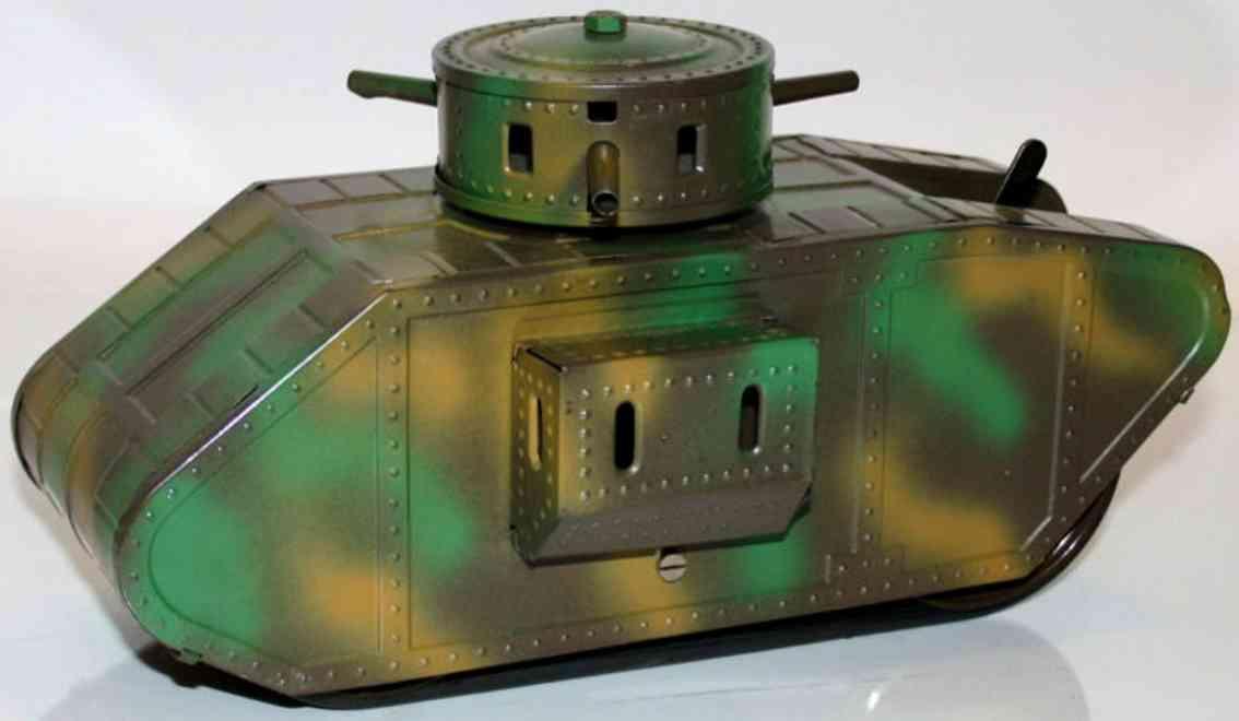 karl bub 912 military toy car english tank mimicry-spraying