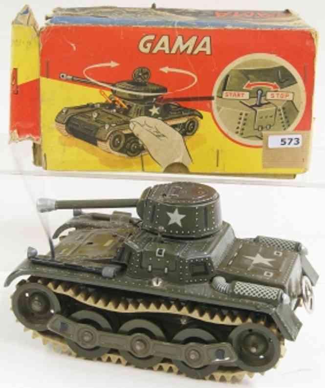 gama 60/3/4 militar spielzeug auto panzer mit uhrwerk
