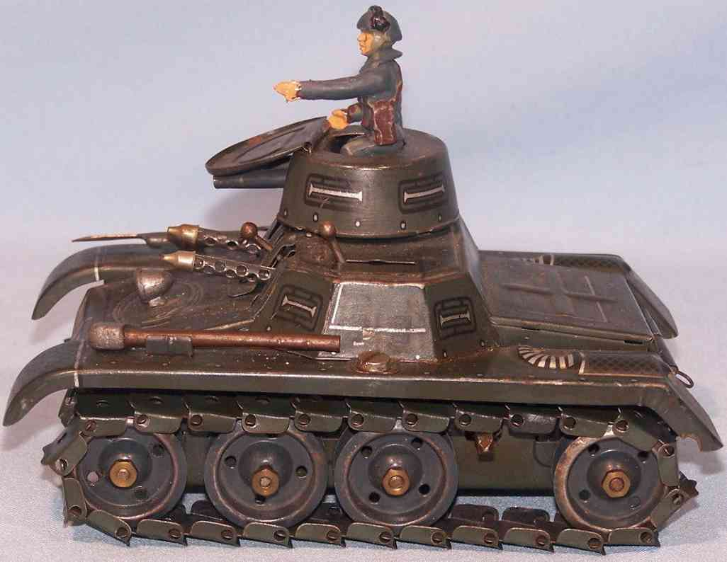 gama 65 spielzeug auto panzer blech metallketten