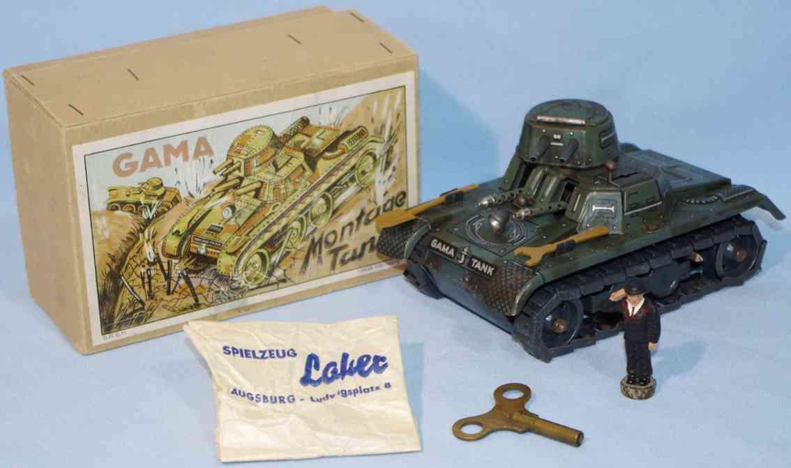 gama 65 militaer spielzeug auto montage tank panzer figur