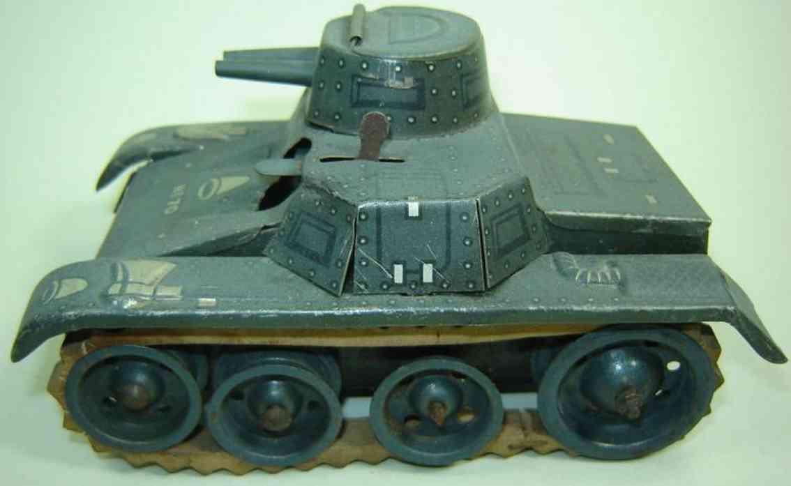 gama 70 militar spielzeug auto panzer aus blech mit federwerk und gummiketten