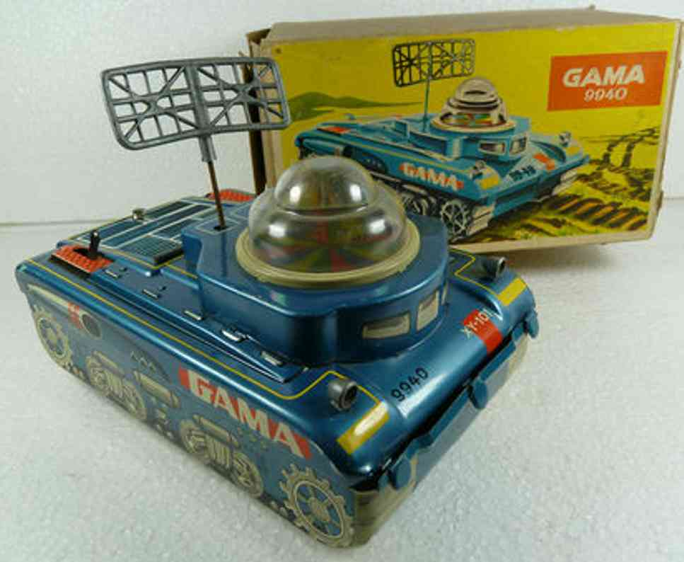 gama 9940 military toy car tank