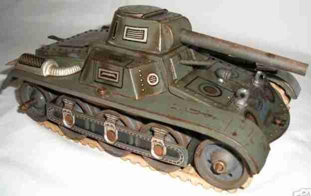 gescha militaer spielzeug auto blechpanzer