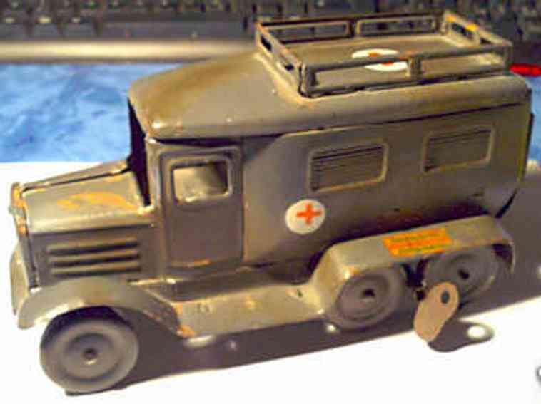 goso military toy car ambulance