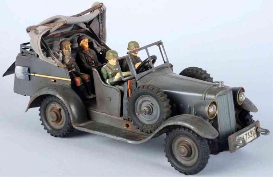 hausser elastolin wh 73312 militaer spielzeug auto nachrichten kraftwagen