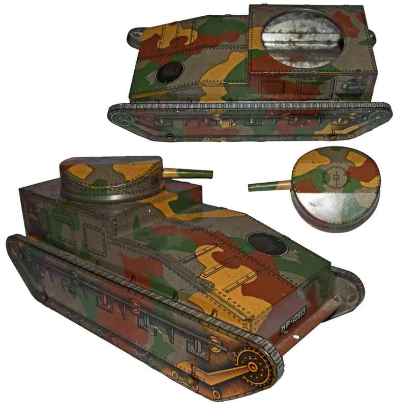 huntley & palmers hp 10813 militaer spielzeug auto panzer blech mimikry