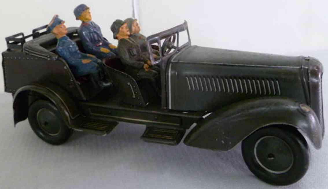 jnf neuhierl 151/6 militaer spielzeug auto wehrmachtsauto