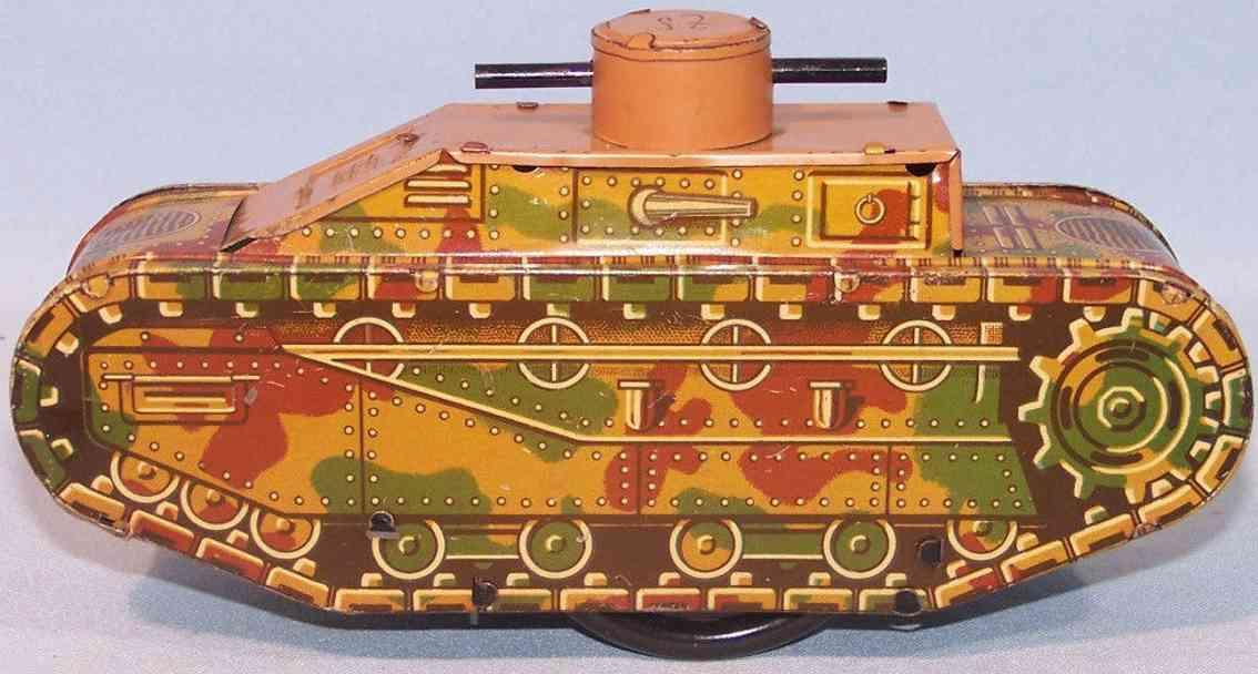 kellermann 292 spielzeug panzer uhrwerk blech mimikry