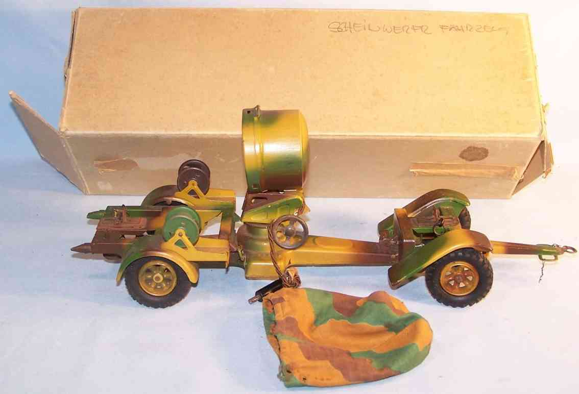 Lineol 1238 Fahrbarer Scheinwerferwagen