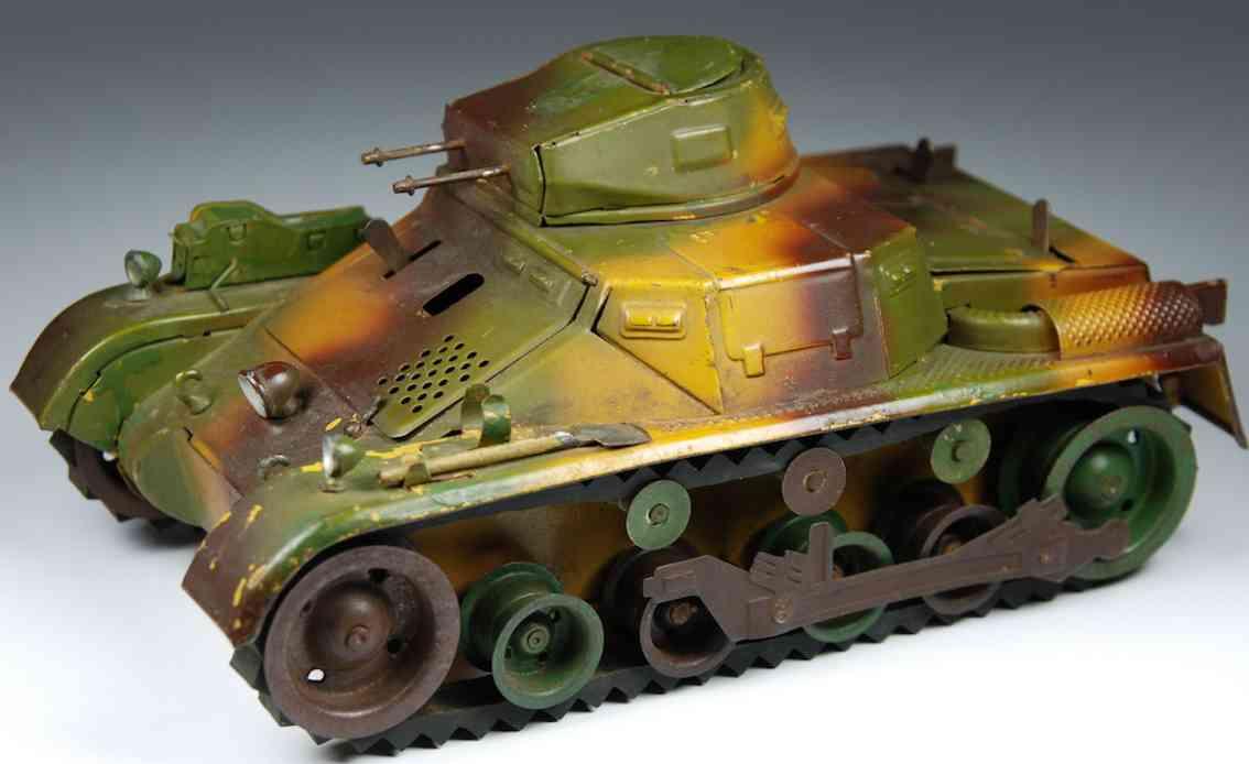 lineol 1280 spielzeug auto panzer blech uhrwerk mimikry