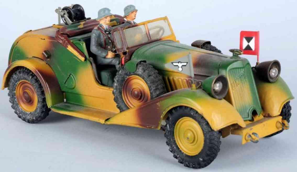 lineol militaer spielzeug auto telefon kuebelwagen