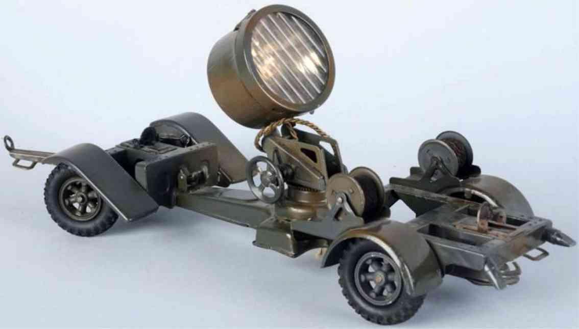 lineol militaer spielzeug suchscheinwerfer