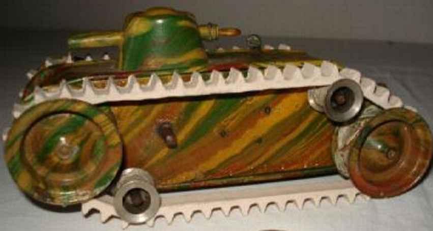 maerklin 1087/0 militaer spielzeug auto tanker uhrwerk mimikri tarnfarbenlackierung
