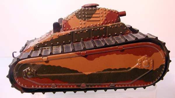 maerklin 1091/3 spielzeug auto panzer mimikri uhrwerk bremse