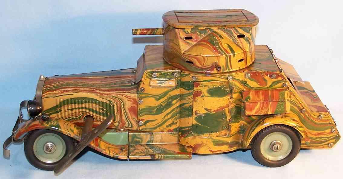 Märklin 1101 Panzerwagen mit Uhrwerk