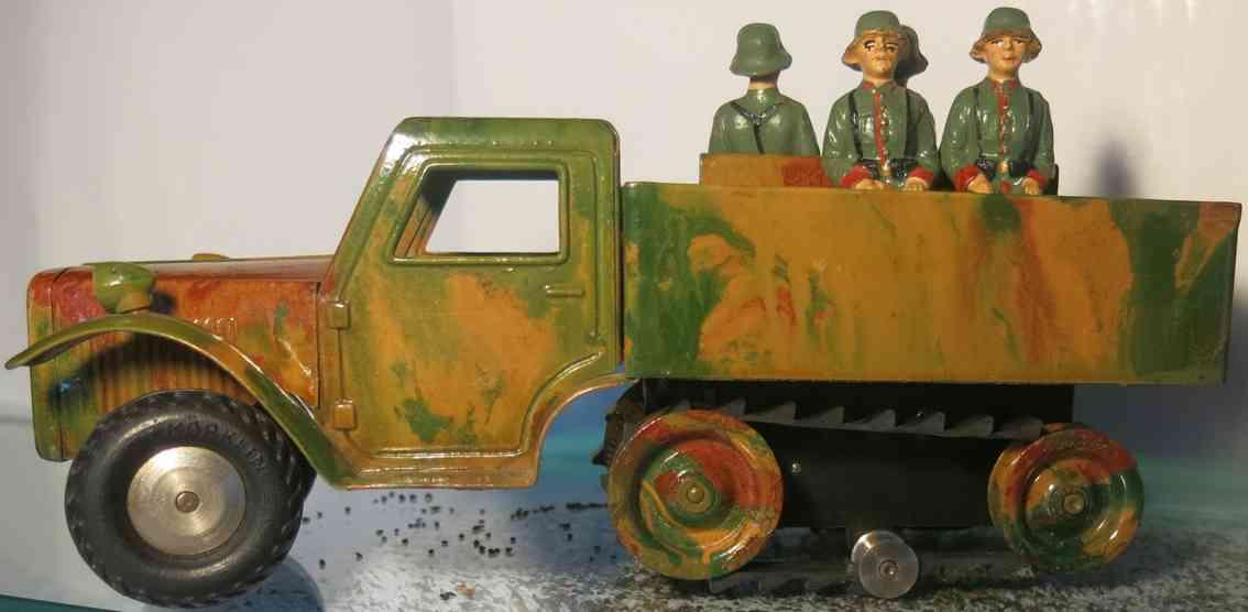 marklin 5191 militar spielzeug auto transportauto mit uhrwerk