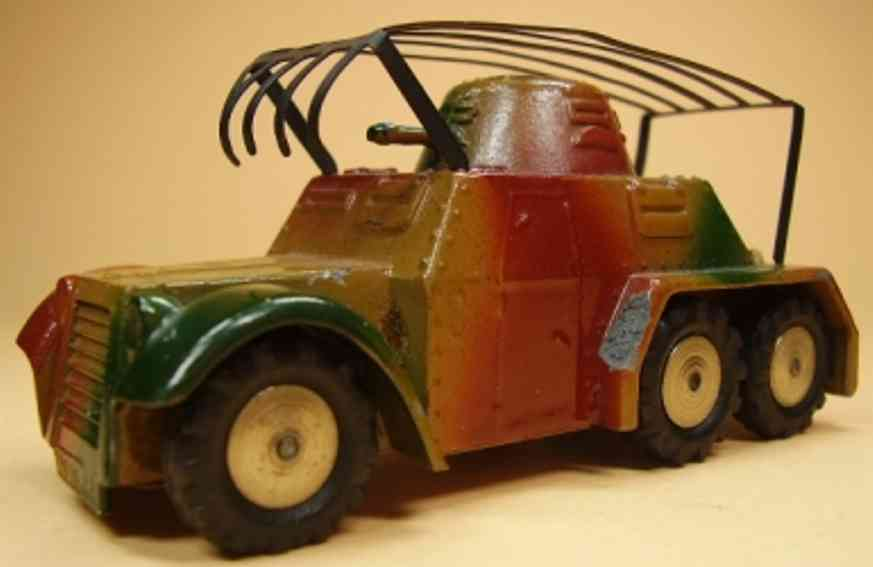 marklin 8021/23 military toy car armored scout car