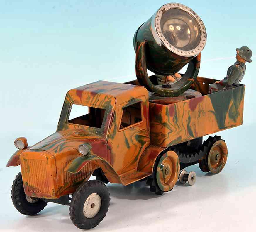 marklin 8195 militar spielzeug auto transportwagen scheinwerferwagen