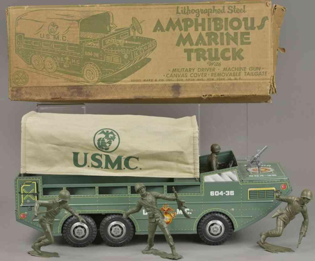 marx louis spielzeug amphibienfahrzeug