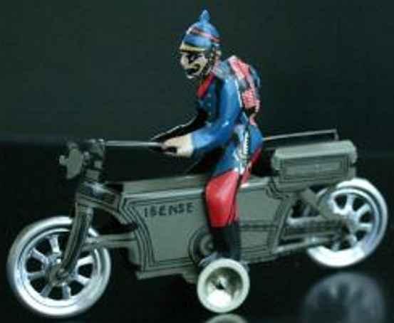 paya 336 military toy car la ibenese tinplate motorcycle