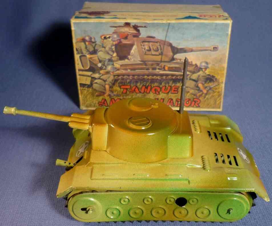 rico 261 militar spielzeug auto panzer ametrallador aus blech