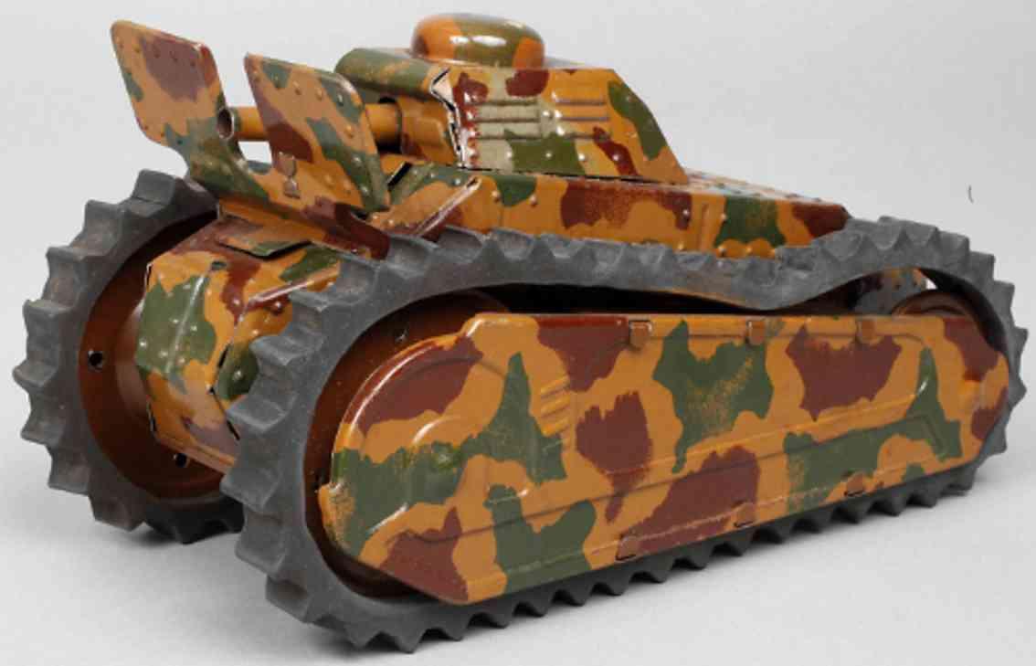 tippco 201 militaer spielzeug panzer blech mimikry uhrwerk