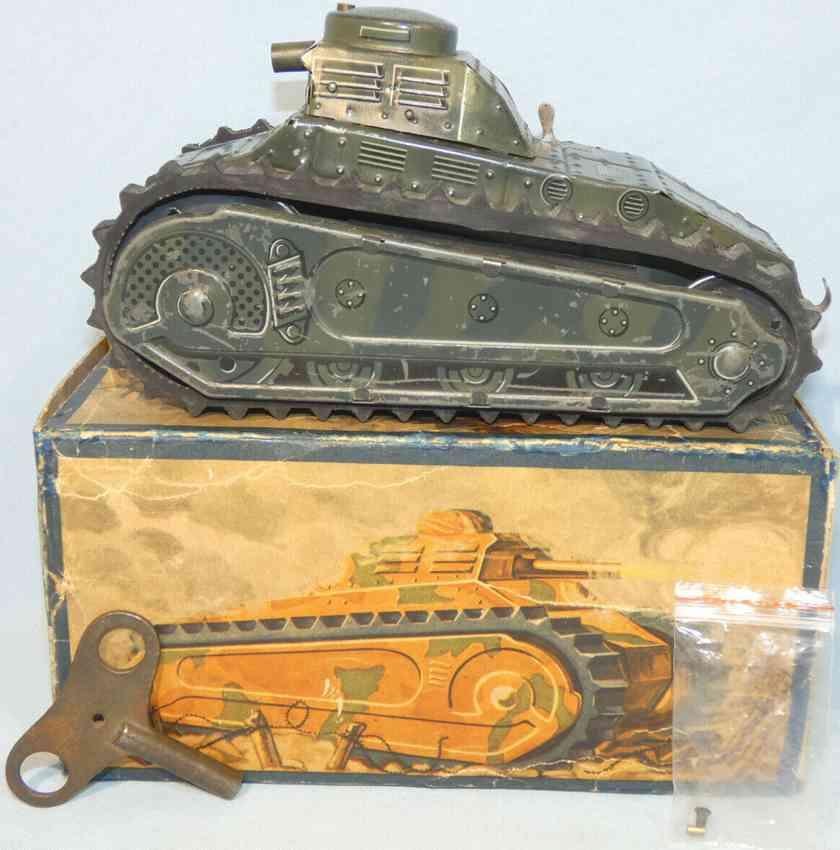 tippco militaer spielzeug auto panzer wh-204 mit uhrwerk und fahrfunktion
