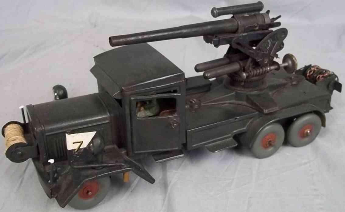 Tippco Anti aircraft gun mounted on army six wheeled truck