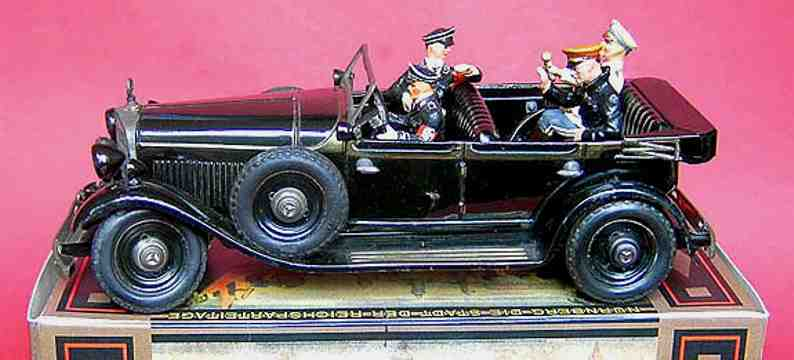 tippco 934 leader car with hitler and goering in dark blue