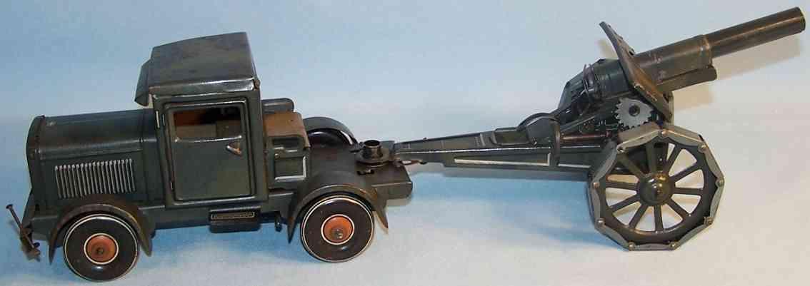 Tippco 169/72 Lastwagen mit Kanone