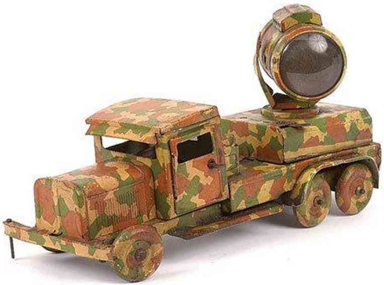 Tippco Militär Scheinwerferauto