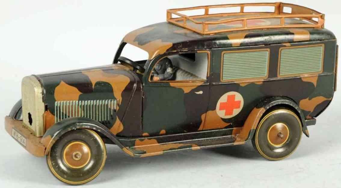 tippco wh 914 militaer spielzeug auto krankenwagen