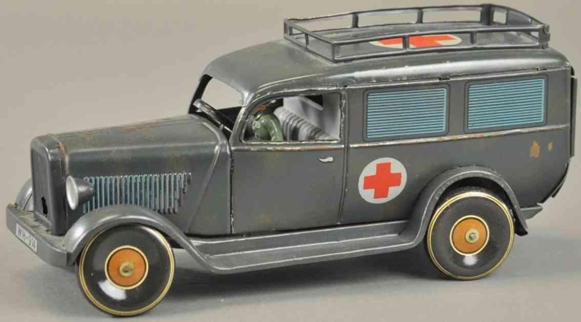 tippco wh-914 militaer spielzeug auto krankenwagen rot kreuz