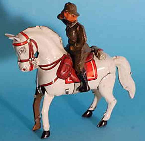 Köhler Soldat auf Pferd
