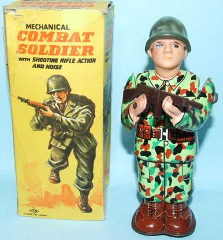 tn nomura toys military toy figure combat soldier clockwork