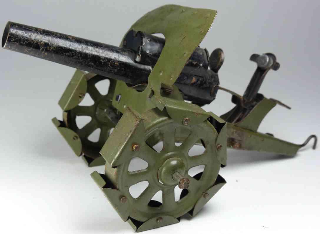 hausser elastolin 0/570 militar spielzeug waffe schweres raupenkettengeschutz aus blech
