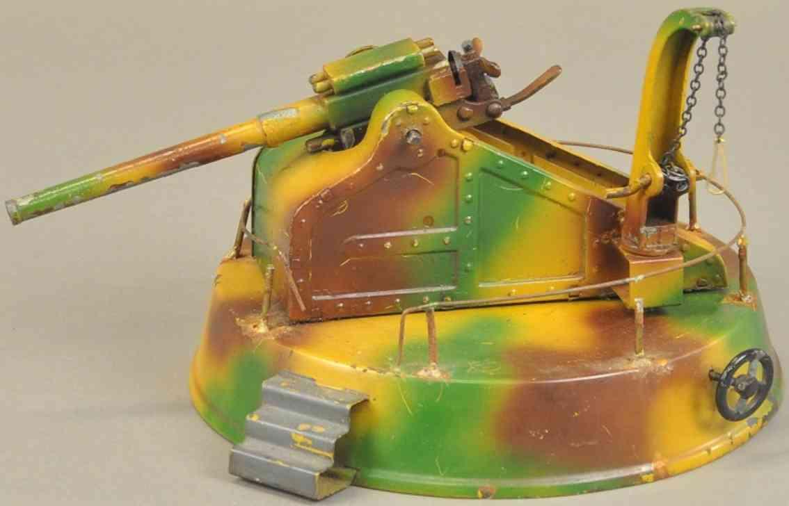 lineol militaer spielzeug kuesten-flugabwehrrakete artilleriegewehr