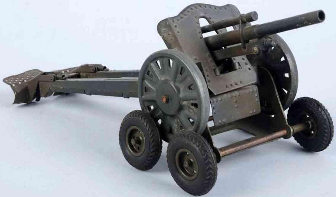 lineol militaer spielzeug waffe haubitze mit strassentransporter