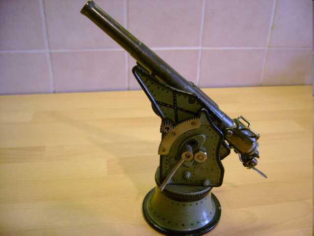 marklin maerklin 8056 military toy arm coasts or fortress gun breechloader