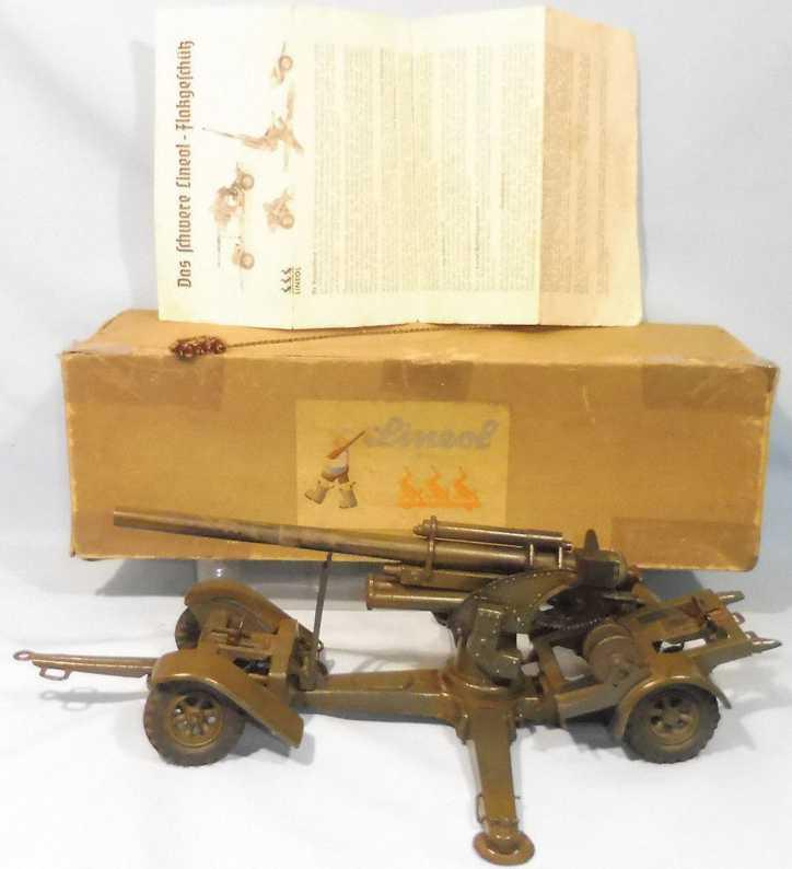 maerklin 1230 militaer spielzeug flak-geschuetz fahrgestell