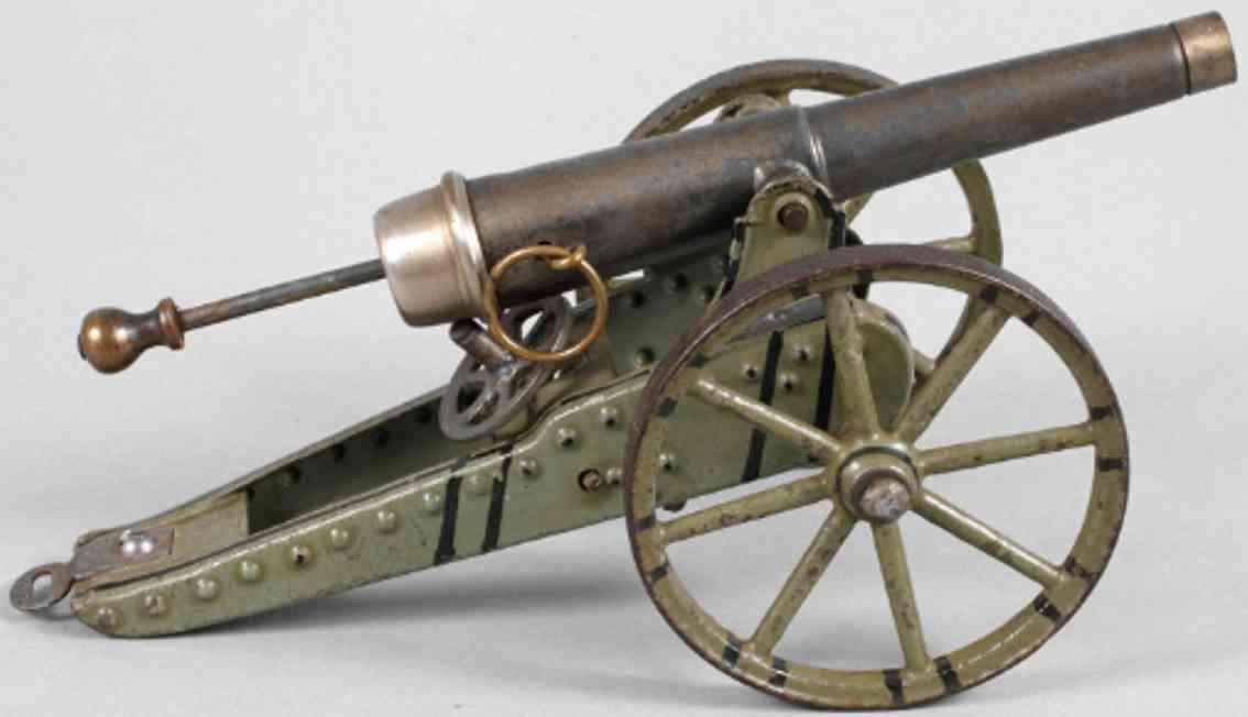 maerklin 8006 militaer spielzeug waffe kanone feldgeschutzs
