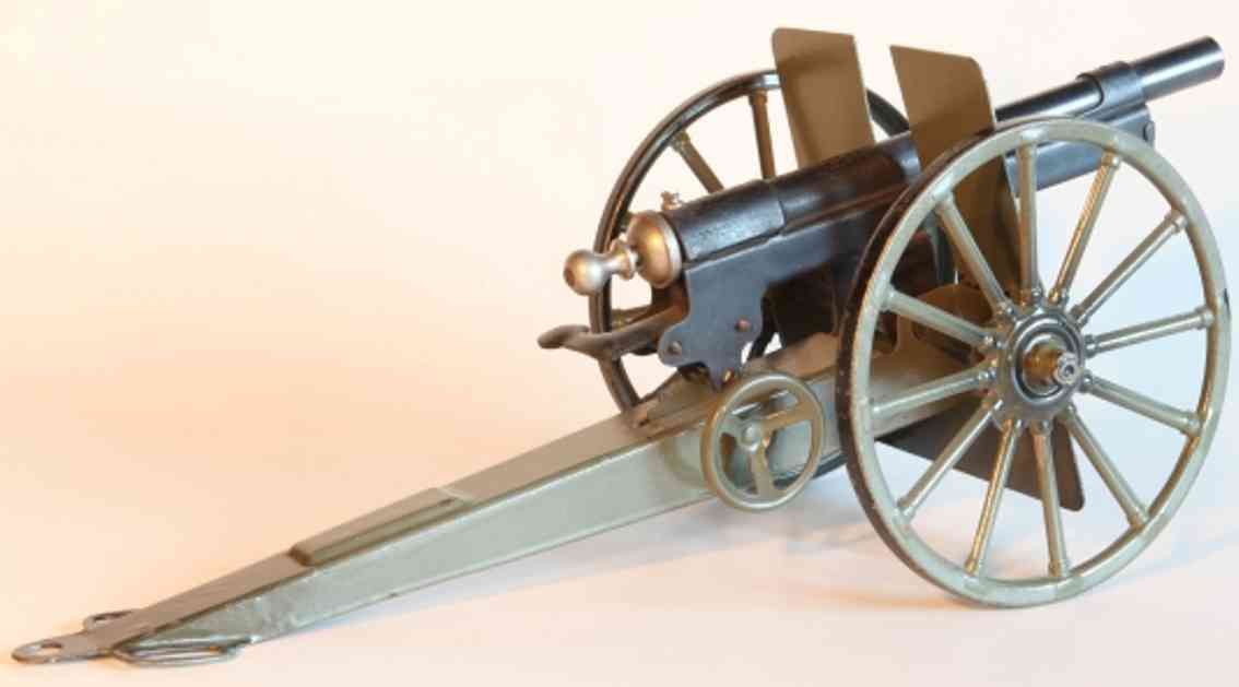 marklin maerklin 8008/3 military toy arm cannon with feather withdrawal
