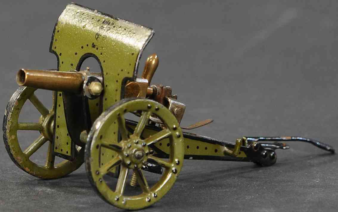 marklin maerklin 8040 2/2 military toy arm shielded field gun