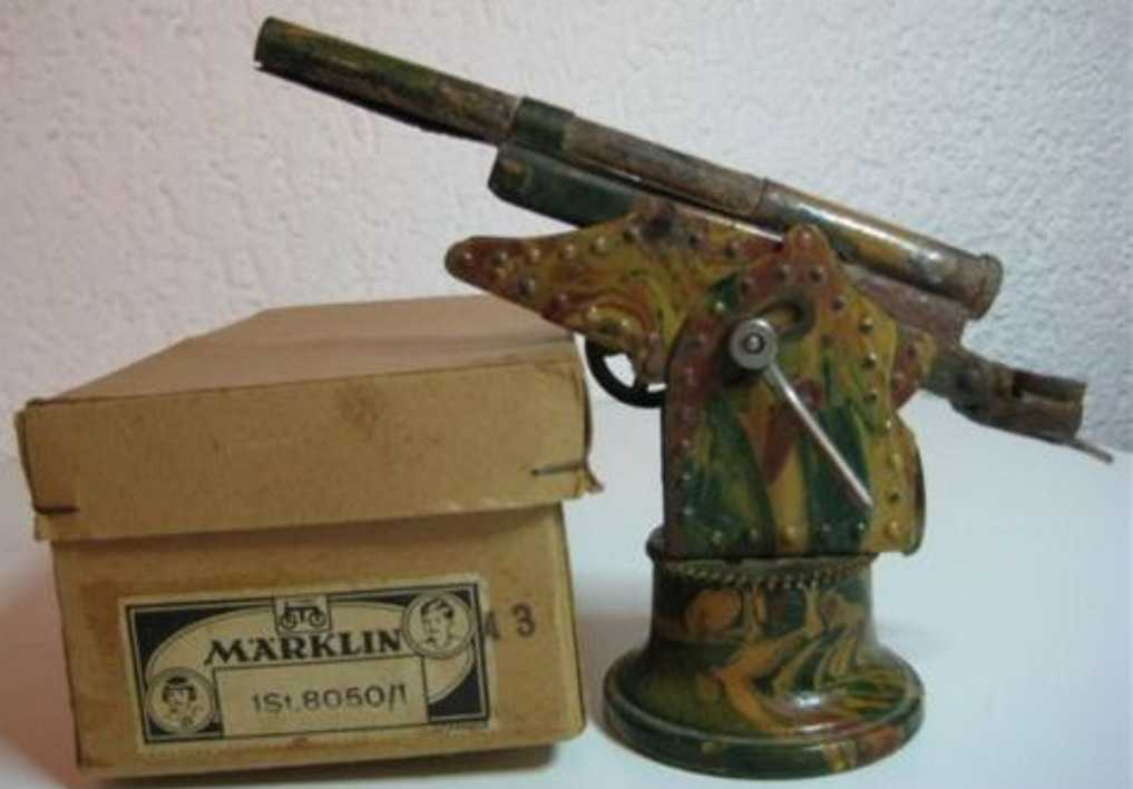 marklin maerklin 8050/1 military toy arm gun