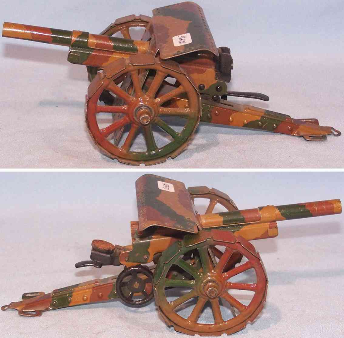 marklin toy field artillery cannon tin