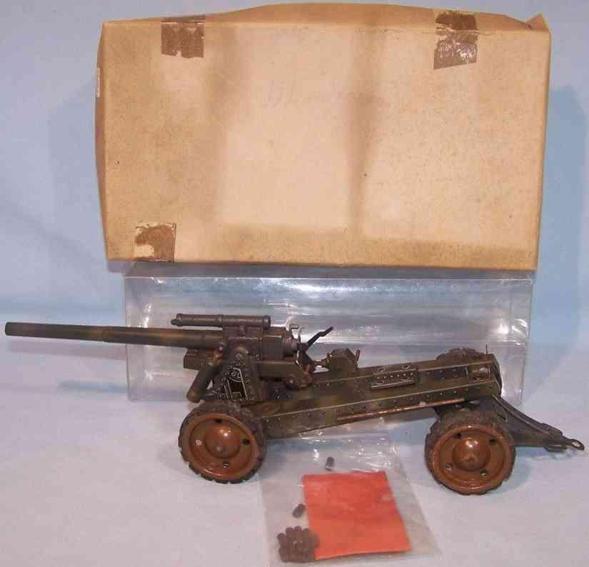 tippco militaer spielzeug 8-8 langrohrgeschurtz gummiraeder
